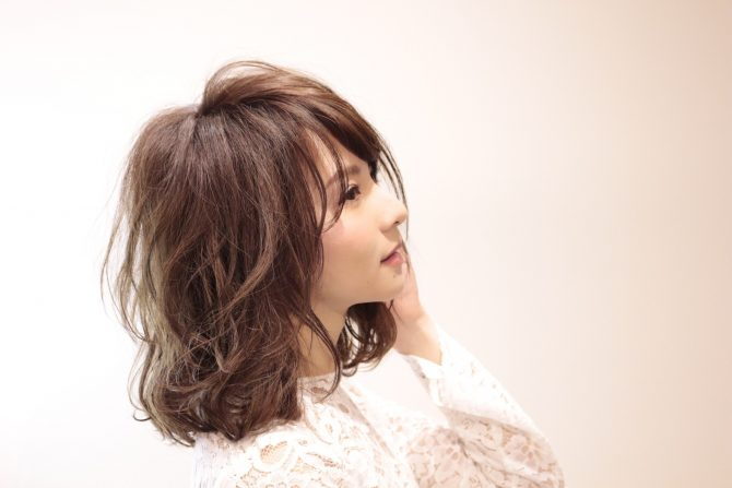 モテ髪 外国人風カラー