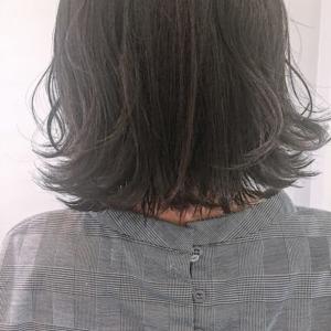 黒髪×ボブ