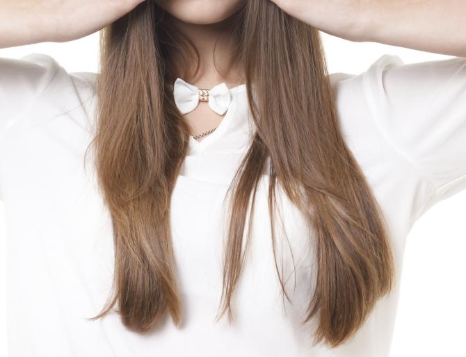 縮毛矯正+カラー+トリートメントでさらさら艶々な髪